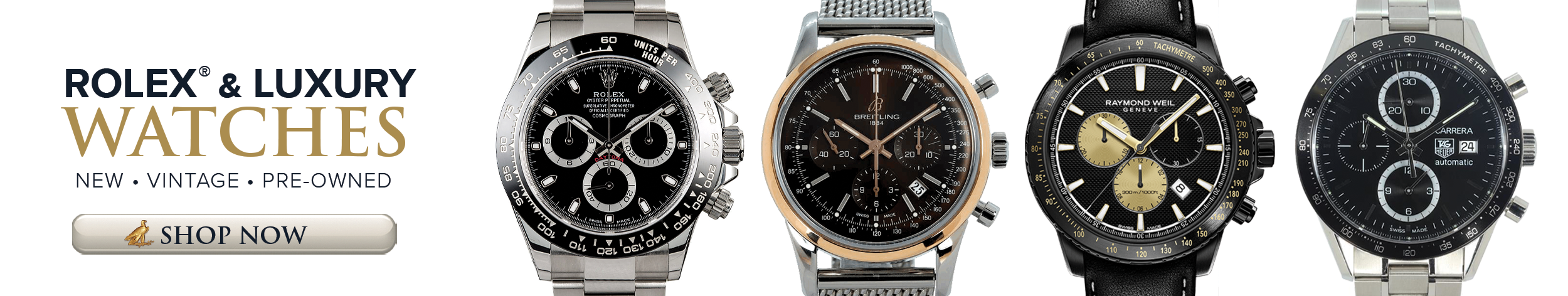 Shop Rolex and other Luxury watches