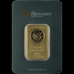 10 OZ GOLD BAR PERTH