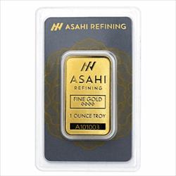 1 OZ GOLD BAR ASAHI