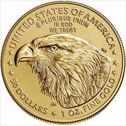 2021 1 OZ AMERICAN GOLD EAGLE TYPE 2 REVERSE