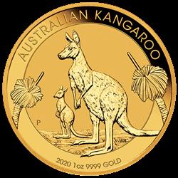 2020 1 OZ AUSTRALIAN GOLD KANGAROO