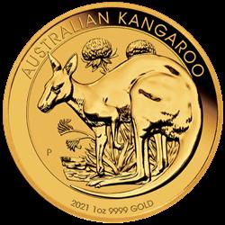 2021 1 OZ AUSTRALIAN GOLD KANGAROO