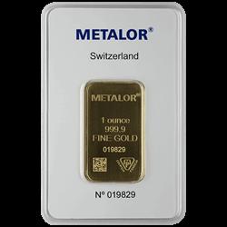 1 OZ GOLD BAR LBMA/RSP ELIG