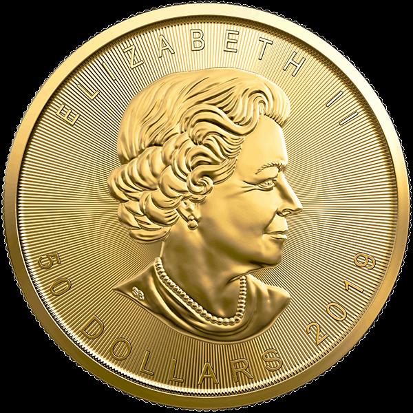 2019 1 OZ CANADIAN GOLD MAPLE LEAF