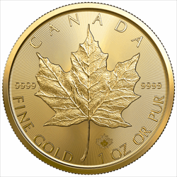 2021 1 OZ CANADIAN GOLD MAPLE LEAF