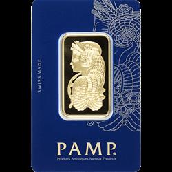 1 OZ GOLD BAR PAMP FORTUNA
