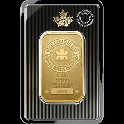 1 OZ GOLD BAR ROYAL CANADIAN MINT