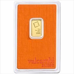 2.5 GRAM GOLD BAR VALCAMBI