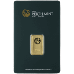 5 GRAM GOLD BAR PERTH