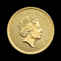 2021 1/2 OZ GREAT BRITAIN GOLD BRITANNIA