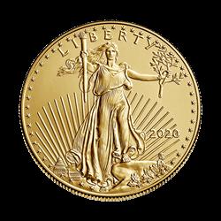 2020 1/2 OZ AMERICAN GOLD EAGLE