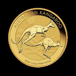 2018 1/2 OZ AUSTRALIAN GOLD KANGAROO