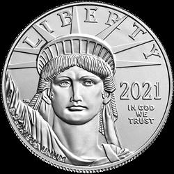 2021 1 OZ AMERICAN PLATINUM EAGLE