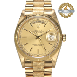 Rolex 36mm Day Date President 18248-820 18K YG  With Box Papers and Tags