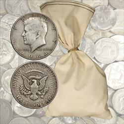 $100 Face Value 90% Silver Halves - 200 total coins 1964 and before