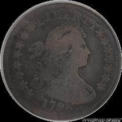 1796 Draped Bust Quarter PCGS G-06