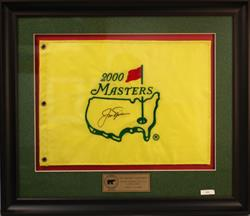 2000 MASTERS AUGUSTA NATIONAL GOLF CLUB PIN FLAG 824/2000 JSA