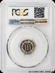 1878 Three Cents Nickel PCGS