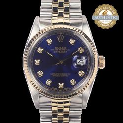 Rolex 36mm Datejust RN16013 Watch Only