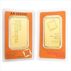 100 GRAM GOLD BAR VALCAMBI
