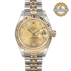 Rolex 26mm Datejust RN/791733 Watch and Papers