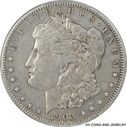 1903-S MORGAN Silver Dollar PCGS VF35 RARE Low Mintage Date