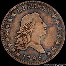 1795 Flowing Hair Half Dollar PCGS VG10