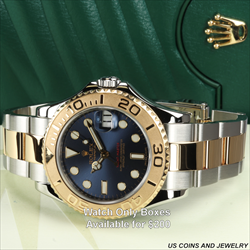 Rolex 37MM Yachtmaster T/T RN/168623