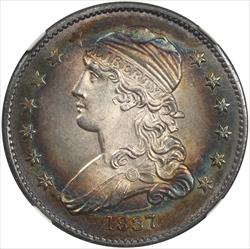 1837 Capped Bust Quarter NGC MS 66 + *