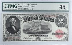 1917 $2 Legal Tender PMG  CVF45 FR#60 Speelman White