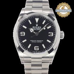 Rolex 36mm Explorer RN/124270 Watch and Card (2021)