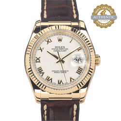 Rolex 36mm DateJust Ref/116138 Watch and Papers
