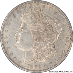 1892-S Morgan Silver Dollar NGC AU53 Low Mintage Key Date