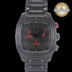 David Yurman Black Diamond Shadow Chronograph Watch and Box
