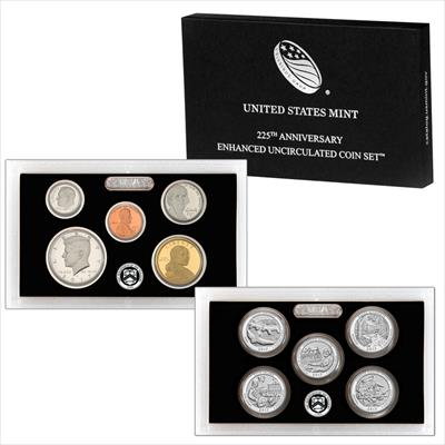 2017-S Enhanced Uncirculated 10-Coin U.S. Mint Set in Original Packaging