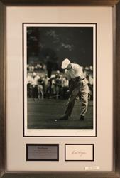 BEN HOGAN AUTOGRAPH AND PHOTO 1959 JSA