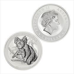 2018 Australia Koala 1 oz .9999 Fine Silver
