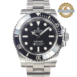 Rolex 40mm Submariner 114060 Black Dial No Date Box and Card