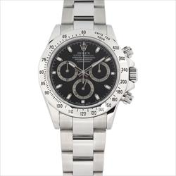 Rolex 40mm Daytona 116520 SS Black Index with Card