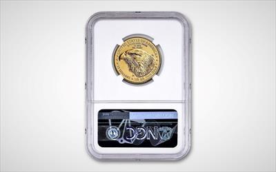 2021-W Type 2 $25 Gold American Eagle PF70 FDOI NGC