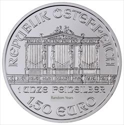 1 OZ SILVER PHILHARMONIC (online only)