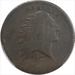 1793 Wreath Cent PCGS VG Details