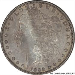 1895-O Morgan Silver Dollar  Choice AU Low Mintage Key Date