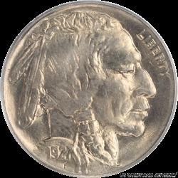 1927 Buffalo Nickel OGH PCGS MS 65