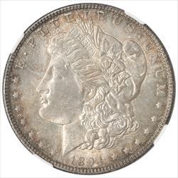 1894-O Morgan Silver Dollar NGC MS63+ Rare Key date