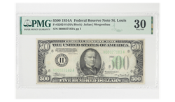 1934A $500 Federal Reserve Note St Louis PMG