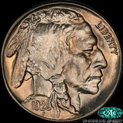 1929-S Buffalo Nickel PCGS CAC MS66+