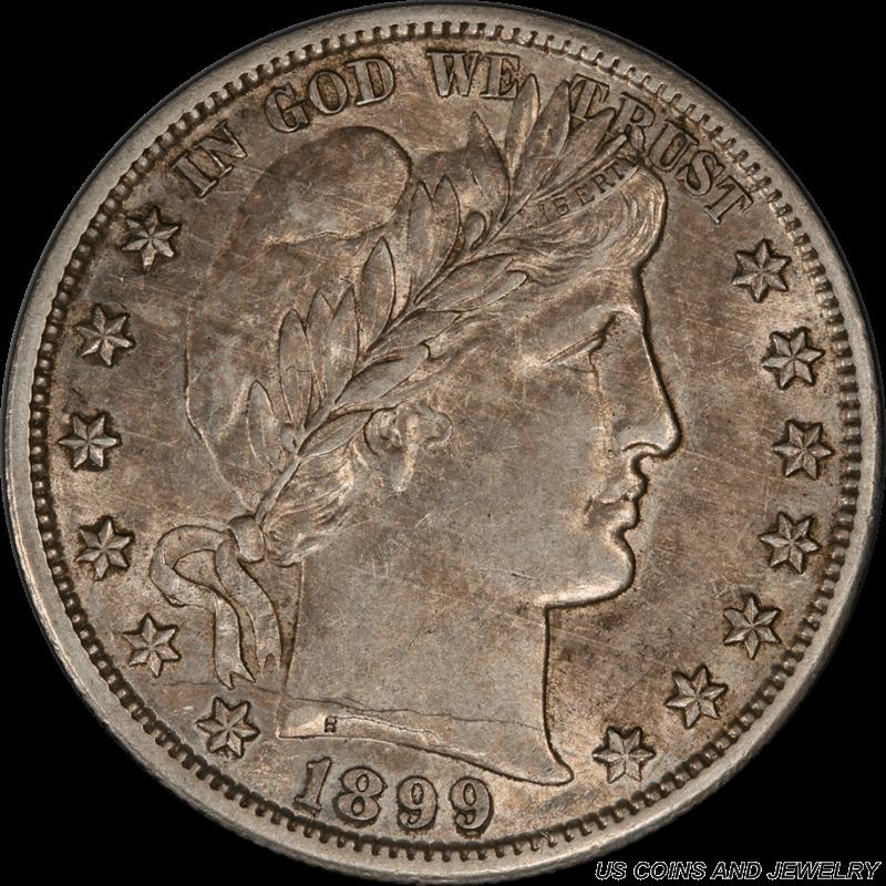 1899-S Barber Half Dollar PCGS