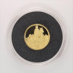 Disney Rarities Mint 1/4 Troy OZ 999 Gold THE PRINCE - Snow Whites 50th Anniversary Series