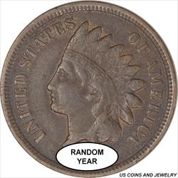 Indian Head Cent | Extra Fine | Raw | All Years and Mints